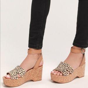 Dolce Vita Linda Leopard Sandal